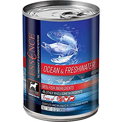 Essence Ocean & Freshwater Grain-Free Canned Dog Food 13 oz (Flat of 12)