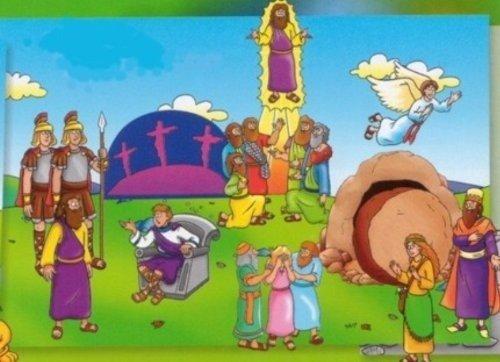 (Little Folk Visuals Beginners Bible: Easter Precut Flannel/Felt Board Figures, 11 Pieces Set)