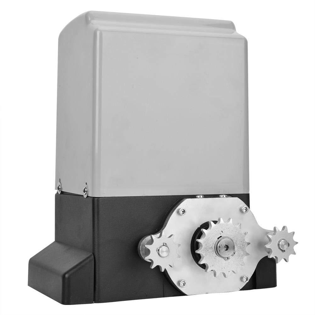 Automatic Chain Sliding Gate Opener Roller Gate Opener with Infrared Sensor 0-1700lb Qiterr Sliding Gate Opener