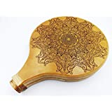Portable Travel Didgeridoo - Mandala - Laser Engraved - Beautiful Sacred Geometry, Professionals and Beginners