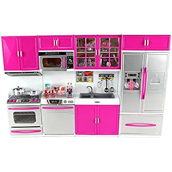 Barbie Doll With Kitchen Furniture Set Price