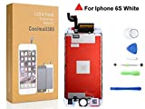 iphone 6S Screen Replacement Set For Lcd Touch Screen Digitizer Frame Assembly (Free Tool Kit) iphone 6S 4.7 (White)