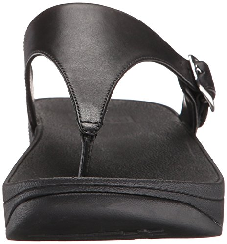 Fitflop the Skinny, Chanclas para Mujer Negro