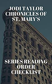 Jodi Taylor Chronicles of St. Mary's Series Reading Order Check