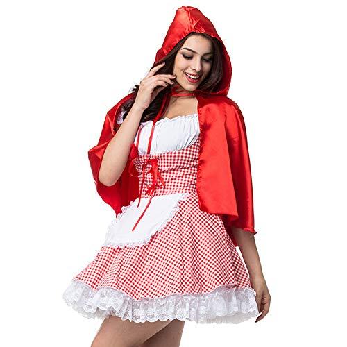 Weihnachten Rolle Cosplay Rotkäppchen Spielen Kleid Halloween Party Kostüm Rollenspiel Kostüm GYH Königin Party ZYqTISYx