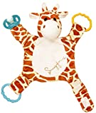 Snuggin - The Comforting Day and Night Lovey Miracle for Babies (Spotted Giraffe) - Plush Stuffed Animal Pacifier and Teether Holder