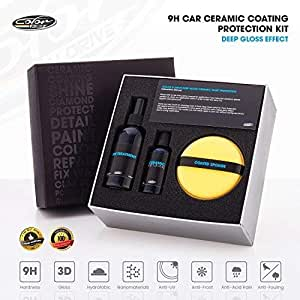 9h Car Ceramic Coating Paint Sealant Protection Kit