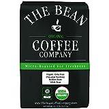 The Bean Coffee Company Organic Aloha Bean (Hawaiian Hazelnut), Medium Roast, Whole Bean, 5-Pound Bag