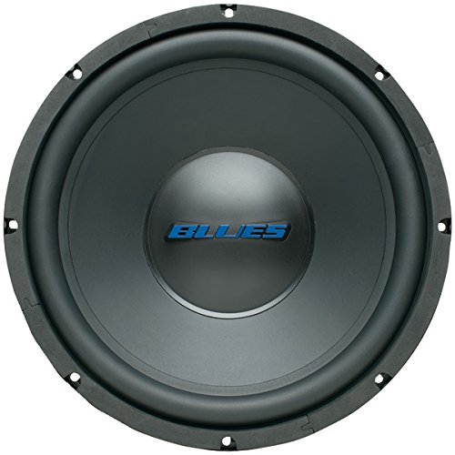 Blues Audio Bw-12d 4_ Subwoofer With Poly-coated Cone [bw-12d 1000-watt ()