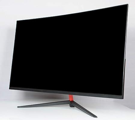 RAPLANC Monitor Curvo para Juegos de 2K, frecuencia de actualización de 144Hz, Puerto HDMI, Puerto VGA, sin Parpadeo, 1 mil Millones + Colores,32Inchblack: Amazon.es: Hogar