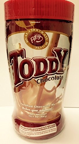Toddy Fortified Chocolate Mix- Made in the U.S.A Net Weight 14.1oz (Toddy Drink)
