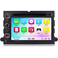 Car DVD GPS for Ford F150 Explorer Mustang Expedition Fusion Escape 500 Edge built in 10pcs Virtual Disc support iPod Player 10-bands EQ