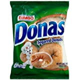 Bimbo Donas sugared 3.8oz