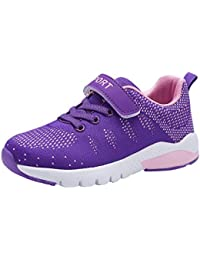 Kids Tennis Shoes Breathable Athletic Shoes Lightweight Walking Running Shoes Fashion Sneakers for Boys and Girls