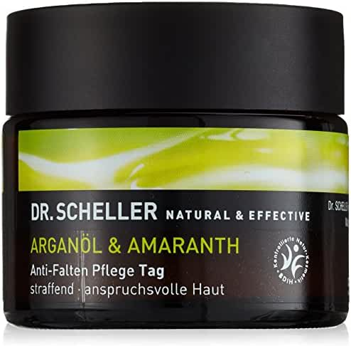 Dr. Scheller Argan Oil and Amaranth Anti-Wrinkle Day Care, 1.8 Ounce