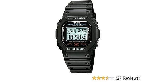 d62a1781599fa Amazon.com  Casio G-Shock DW5600E-1  Watches