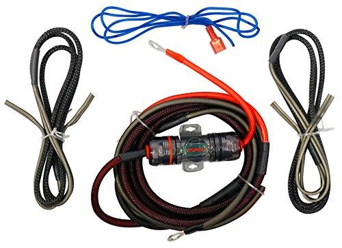 Metra ST-AK10 Motorcycle/ATV/UTV/RZR 10 Gauge OFC Amplifier Amp Install Wire Kit Metra Amp Kit