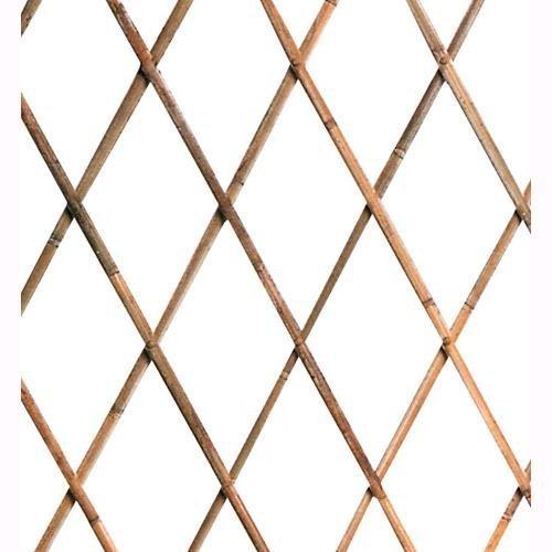 Traliccio Estensibile In Legno Bamboo Dimensioni 180x240 Cm. Oem