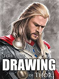 Clip: Time Lapse Drawing of Thor