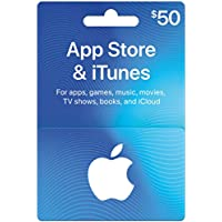 Deals on $50 Apple Store & iTunes Gift Card (Email Delivery)