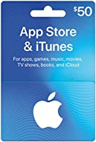 App Store & iTunes $50 Gift Card