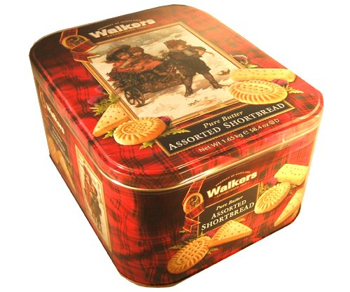 Walkers Scottish Pure Butter Assorted Shortbread Holiday Christmas Thanksgivi...
