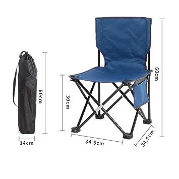 Silla de Camping Plegable/Silla de Pescador/Silla Plegable ...