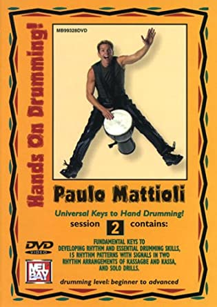 Amazon.com: Hands on Drumming Session 2: Paulo Mattioli ...