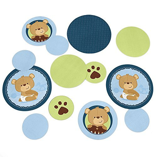 Baby Boy Teddy Bear - Party Table Confetti - 27 (Boys Bear)