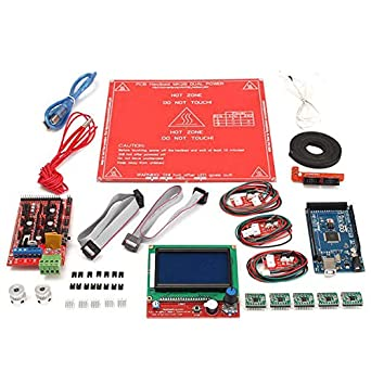 Ramps 1.4 12864 LCD MK2B Heat Bed Controller Kit for Reprap Prusa ...