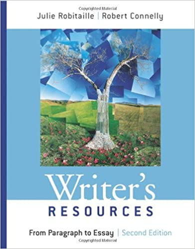 Writers resources from paragraph to essay