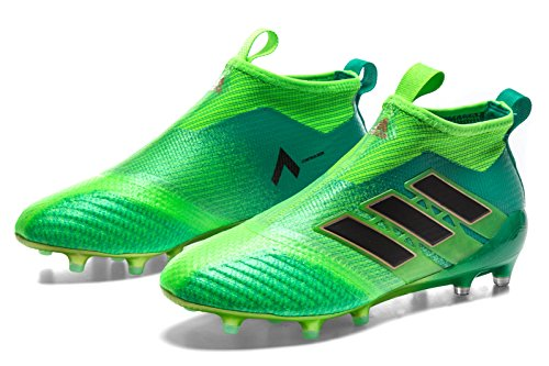 17 Crampons Foot Ace noir Solaire Green De Adidas Vert vert Pure Control Fg 5HganXqf
