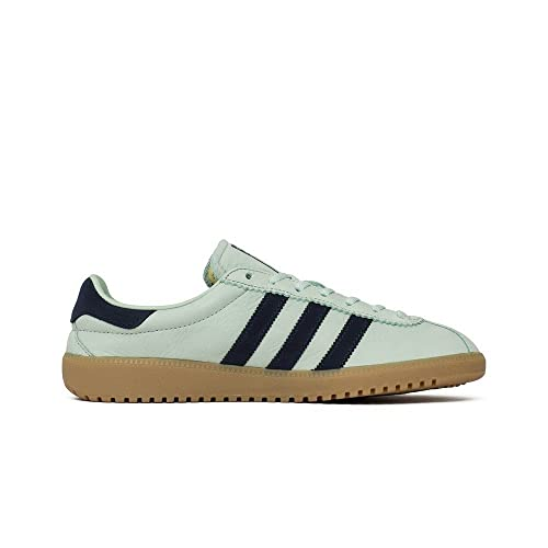 low priced d497a 34079 adidas Originals Bermuda CQ2783 in Ash GreenNavy Amazon.co.uk Shoes   Bags