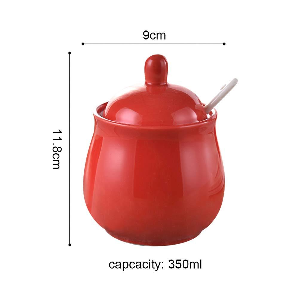 Amazon.com: DoDola - Azucarero de cerámica con tapa y ...