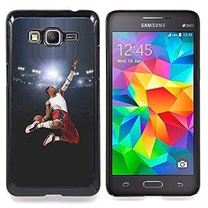 - Flying Basketball Hero - - Cubierta del caso de impacto con el patr??n Art Designs FOR Samsung Galaxy Grand Prime G530H G5308 Queen Pattern