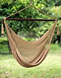 Cheap Merax Hammock Swing Chair Wooden Bar Durable happy swing