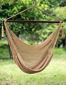 Merax hamaca Swing silla barra interior de madera Durable Happy Swing