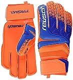 Reusch Prisma SG Extra Goalkeeper Gloves Size 10 Shocking Orange/Blue