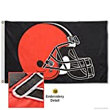 WinCraft Cleveland Browns Embroidered Nylon Flag