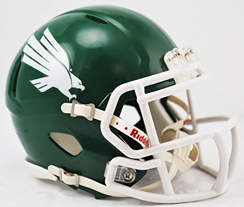 - North Texas Riddell Speed Mini Football Helmet