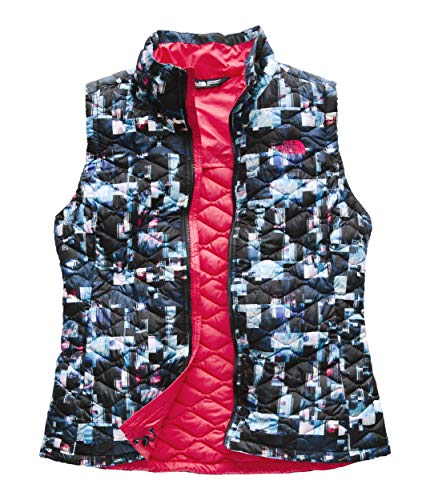 (The North Face Women's Thermoball Vest - Multi Glitch Print - XS)