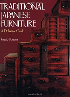 Traditional japanese furniture a definitive guide.