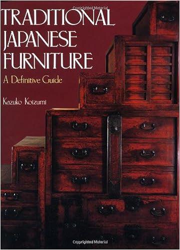 Traditional Japanese Furniture: Kazuko Koizumi: 9780870117220: Amazon.com:  Books