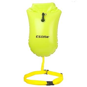 d7f3ac5db6ee Esone Swim Buoy - Boya de seguridad de natación y bolsa seca para ...