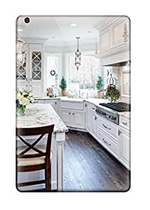 Anti-scratch And Shatterproof Traditional White Kitchen With Eat-in Island Phone Case For Ipad Mini/mini 2/ High Quality Tpu Case