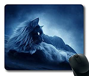 Images Cool Cat Easter Thanksgiving Personlized Masterpiece Limited Design Oblong Mouse Pad by Cases & Mousepads