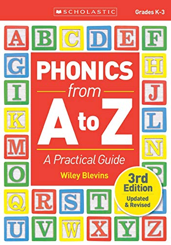 Phonics From A to Z, 3rd Edition: A Practical Guide