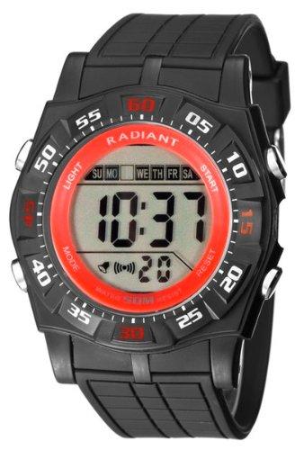 Radiant new skate reloj para Hombre Digital de Cuarzo con brazalete de Silicona RA124603: Amazon.es: Relojes