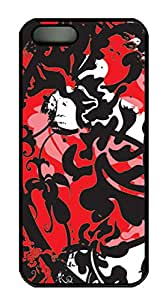 iPhone 5s Case, iPhone 5s Cases - Deceased Royalty PC Polycarbonate Hard Case Back Cover for iPhone 5s¨CBlack