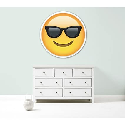 Kapowboom Graphics Emoji Emoticonos Gafas de Sol Cool ...